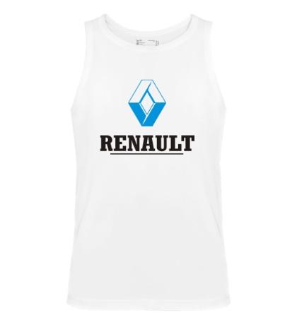 Мужская майка Renault Logo