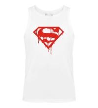 Мужская майка Кровавый супермен