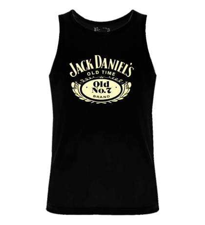 Мужская майка Jack Daniels: Old Time Glow