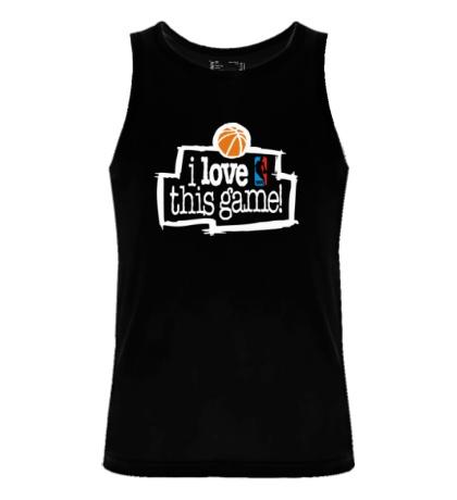 Мужская майка NBA I love this game