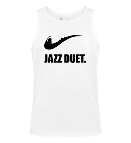 Мужская майка Jazz duet