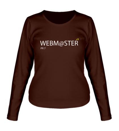 Женский лонгслив Pro Webmaster