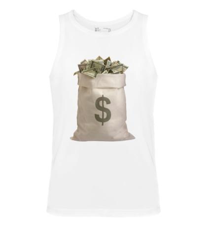 Мужская майка Мешок с деньгами