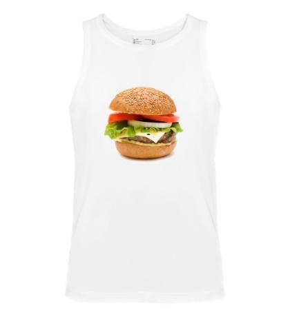 Мужская майка Гамбургер