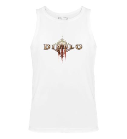 Мужская майка Diablo III Logo