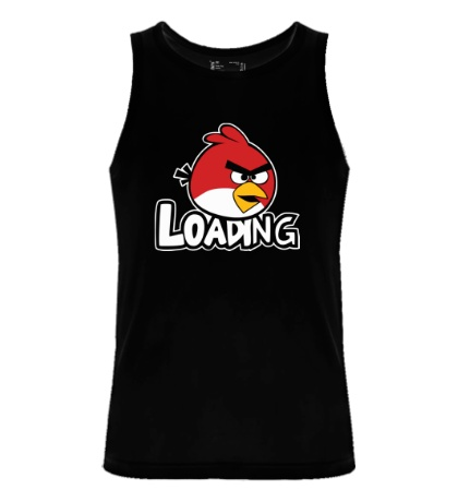 Мужская майка Angry Birds Loading