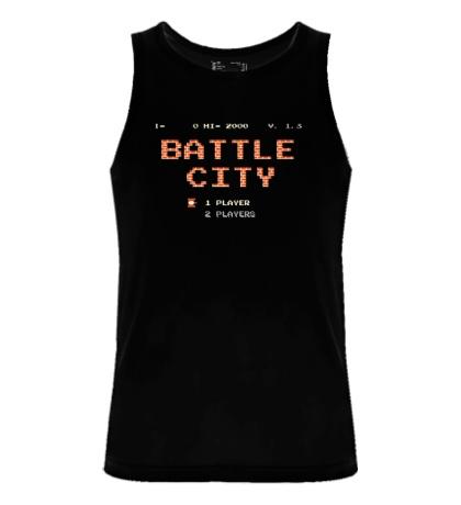 Мужская майка Battle City Glow