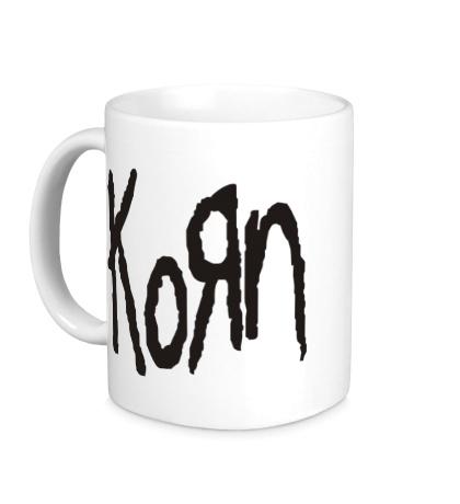 Керамическая кружка KoRn