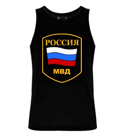 Мужская майка МВД России