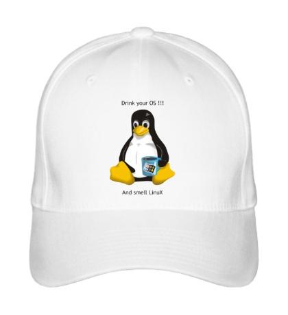 Бейсболка Smells Linux