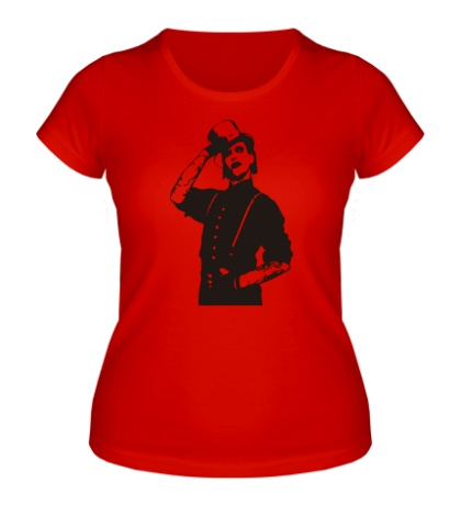 Женская футболка Marilyn Manson: Portrait
