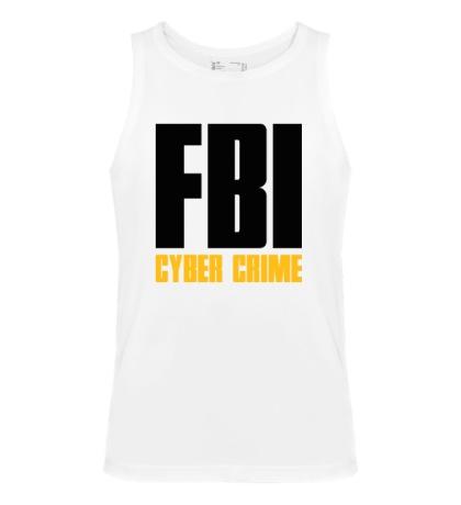 Мужская майка FBI Cyber Crime