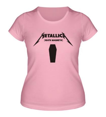 Женская футболка Metallica: Death Magnetic