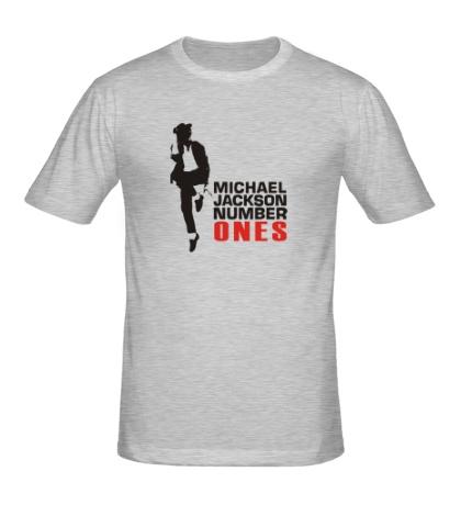 Мужская футболка Michael Jackson: Number Ones