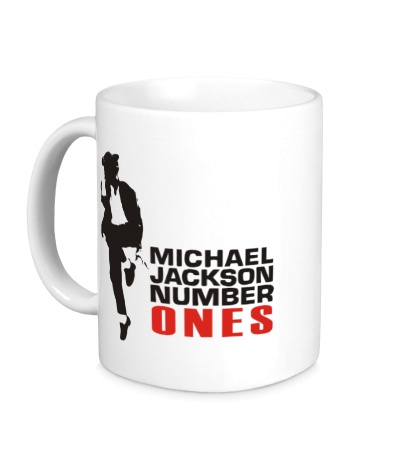 Керамическая кружка Michael Jackson: Number Ones