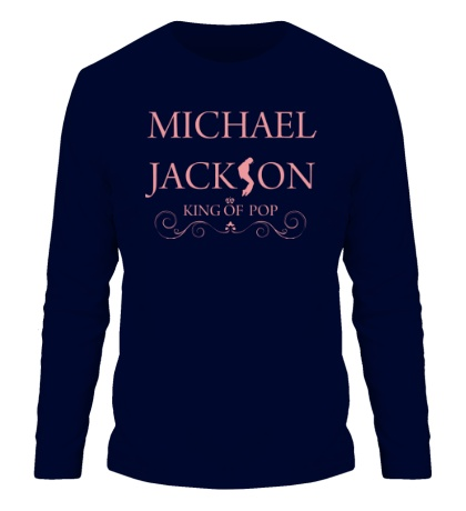 Мужской лонгслив Michael Jackson: King of pop