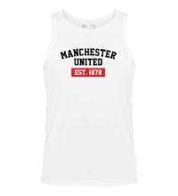 Мужская майка FC Manchester United Est. 1878