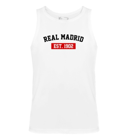 Мужская майка FC Real Madrid Est. 1902
