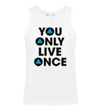 Мужская майка You Only Live Once