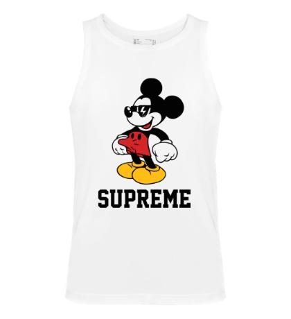 Мужская майка Supreme Mickey Mouse