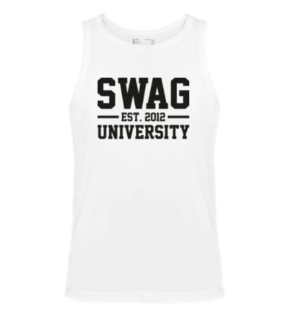 Мужская майка Swag University