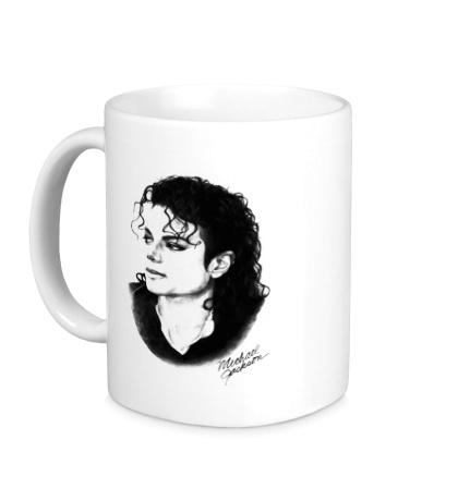 Керамическая кружка Michael Jackson