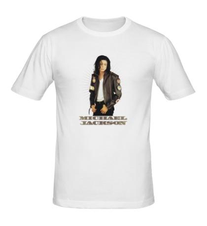 Мужская футболка Michael Jackson: Pop Star