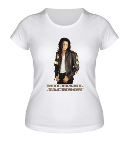 Женская футболка Michael Jackson: Pop Star