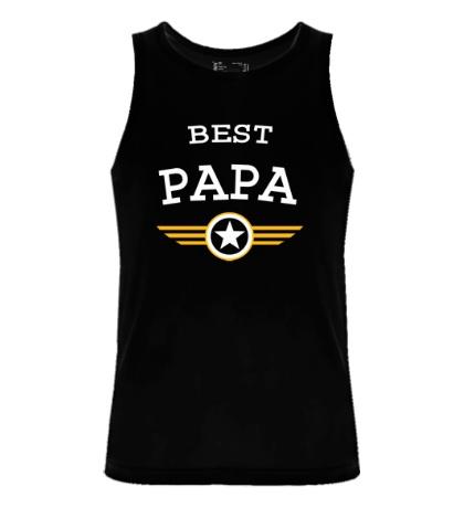 Мужская майка Best Papa