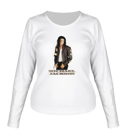 Женский лонгслив Michael Jackson: Pop Star