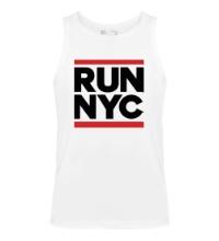 Мужская майка Run NYC