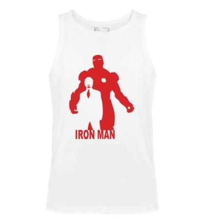 Мужская майка Iron Man
