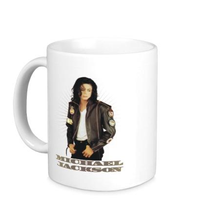 Керамическая кружка Michael Jackson: Pop Star