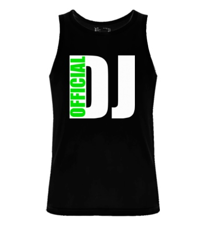 Мужская майка Official DJ