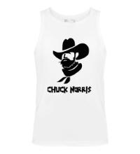 Мужская майка Chuck Norris: Wild West