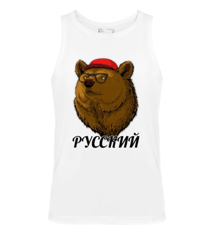 Мужская майка Русский Медведь