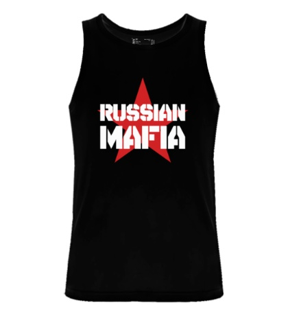 Мужская майка Russian mafia
