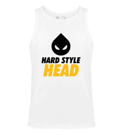 Мужская майка Hard Style Head
