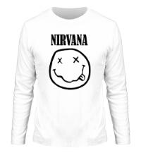 Мужской лонгслив Nirvana