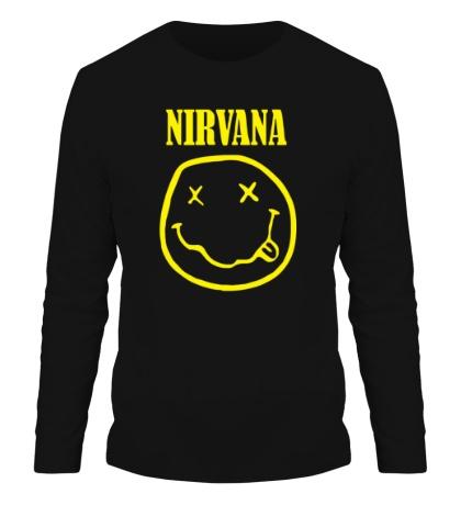 Мужской лонгслив «Nirvana»