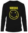 Мужской лонгслив «Nirvana» - Фото 1