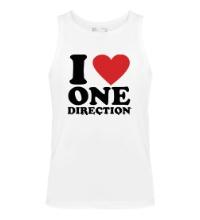 Мужская майка I love One Direction