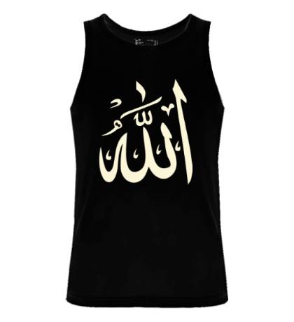 Мужская майка Аллах, свет