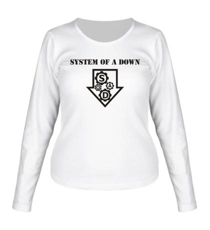 Женский лонгслив System of a down