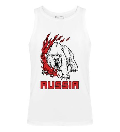 Мужская майка Fire Russia