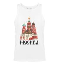 Мужская майка Москва