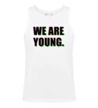 Мужская майка We are young