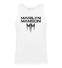 Мужская майка Marilyn Manson