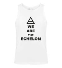 Мужская майка We are the echelon