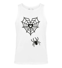 Мужская майка Любящий паук